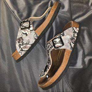 Birkenstock Shoes - Rare 🐍 Python Gizeh Papillio Birkenstock sandles
